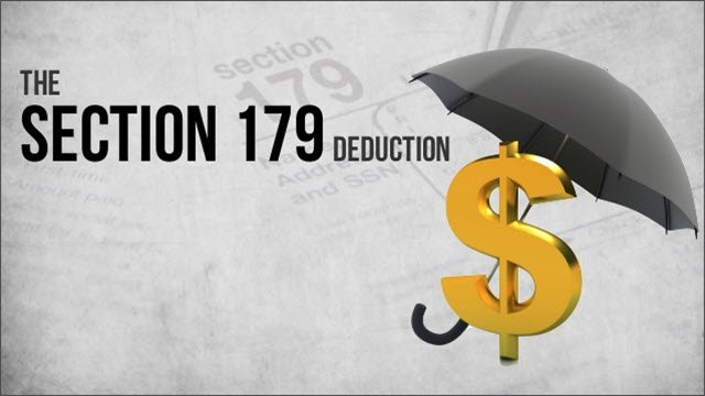 IRS Section 179 Tax Deduction