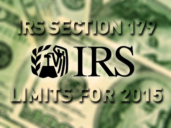 IRS Section 179 Limits