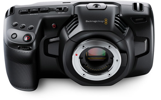 4K Blackmagic Pocket Cinema Camera