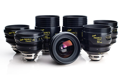 Financing for Cooke Speed Panchro Lenses