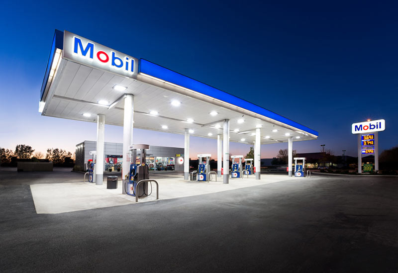 Gas Station LED Lighting Financing