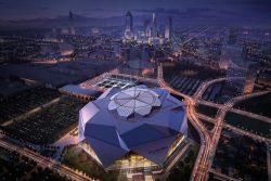 Mercedes-Benz Stadium LED Lights